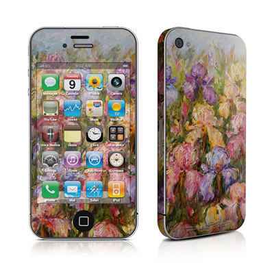 iPhone 4 Skin - Field Of Irises