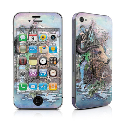 iPhone 4 Skin - Forest Warden