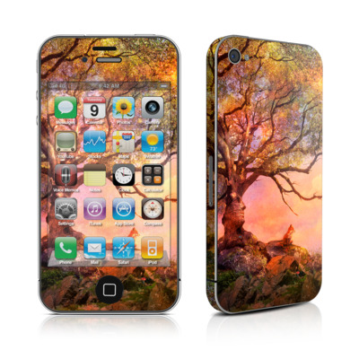 iPhone 4 Skin - Fox Sunset