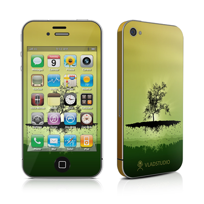 iPhone 4 Skin - Flying Tree Amber