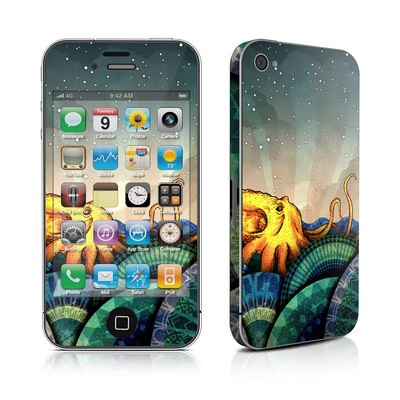 iPhone 4 Skin - From the Deep
