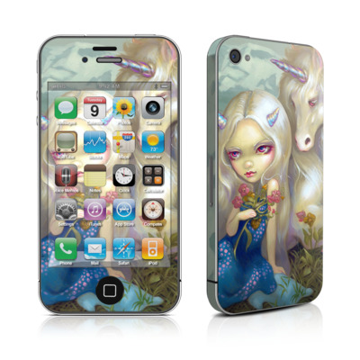 iPhone 4 Skin - Fiona Unicorn