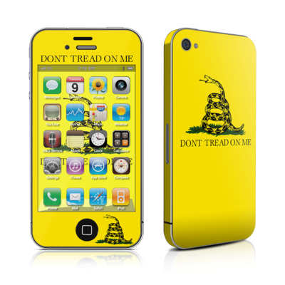 iPhone 4 Skin - Gadsden Flag