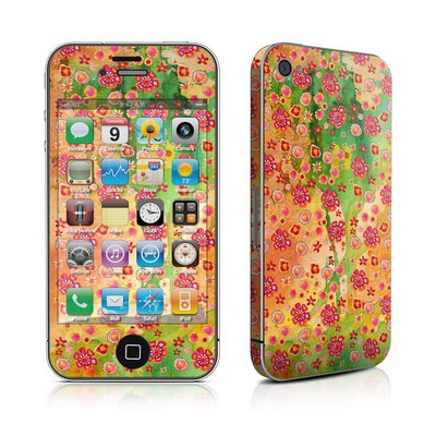 iPhone 4 Skin - Garden Flowers