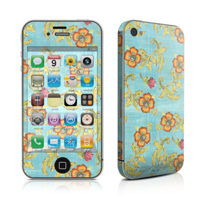iPhone 4 Skin - Garden Jewel