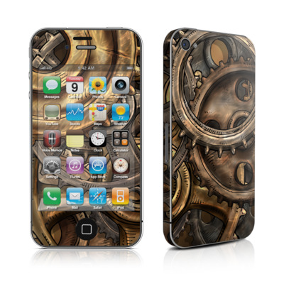 iPhone 4 Skin - Gears