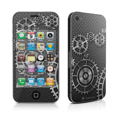 iPhone 4 Skin - Gear Wheel
