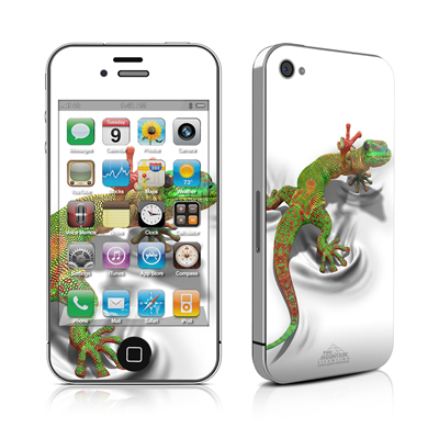 iPhone 4 Skin - Gecko
