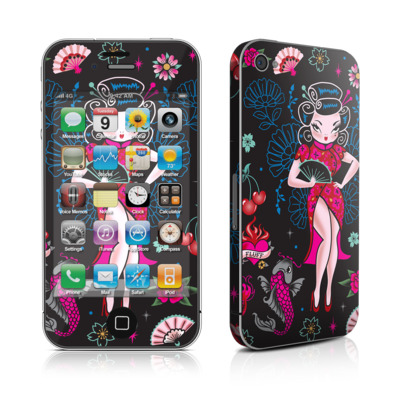 iPhone 4 Skin - Geisha Gal