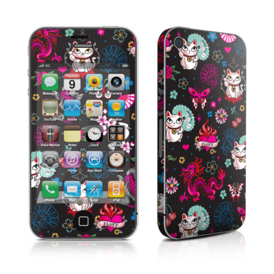 iPhone 4 Skin - Geisha Kitty