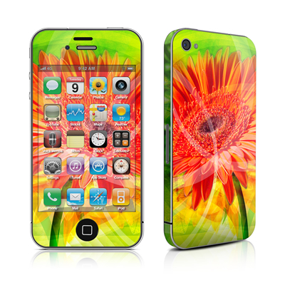 iPhone 4 Skin - Gerbera