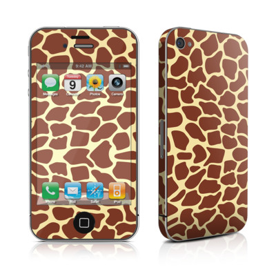 iPhone 4 Skin - Giraffe