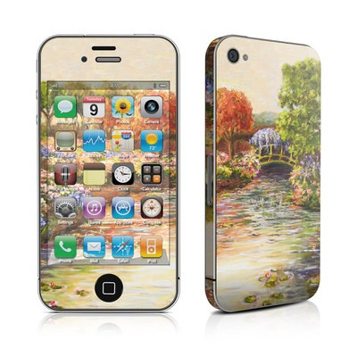 iPhone 4 Skin - Giverny Forever