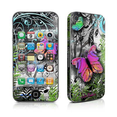 iPhone 4 Skin - Goth Forest