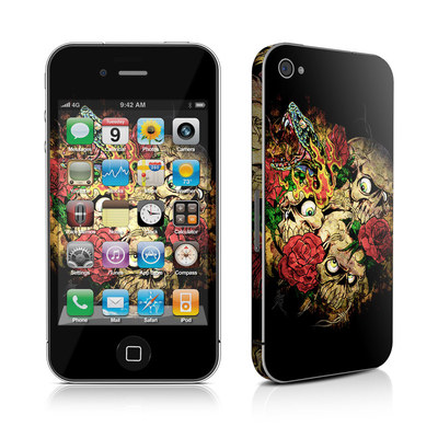 iPhone 4 Skin - Gothic Tattoo