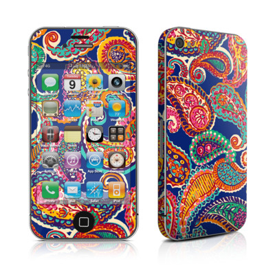 iPhone 4 Skin - Gracen Paisley