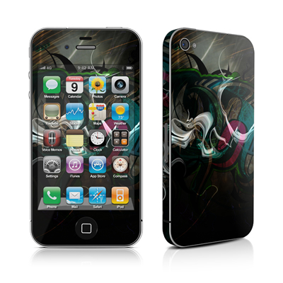 iPhone 4 Skin - Graffstract