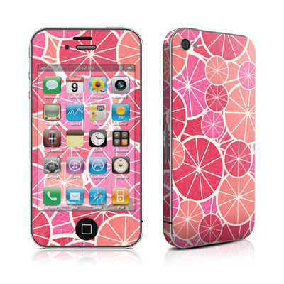 iPhone 4 Skin - Grapefruit