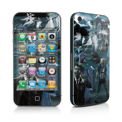 iPhone 4 Skin - Graveyard