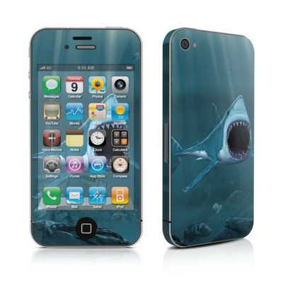 iPhone 4 Skin - Great White