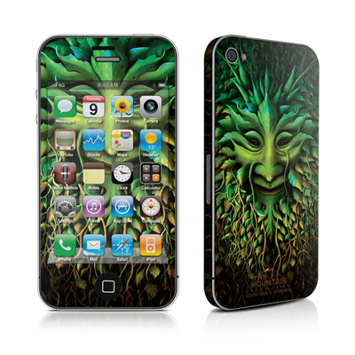 iPhone 4 Skin - Greenman