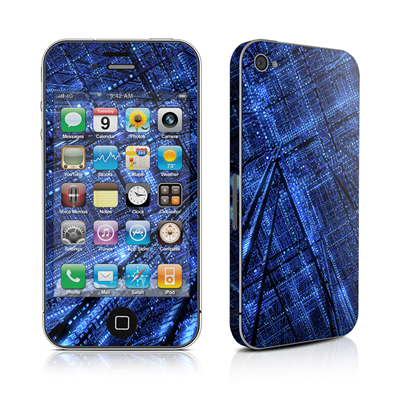 iPhone 4 Skin - Grid