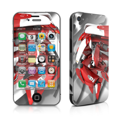 iPhone 4 Skin - Gundam Light