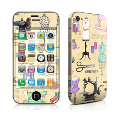 iPhone 4 Skin - Haberdashery
