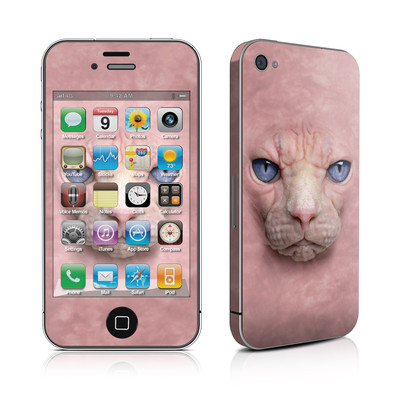 iPhone 4 Skin - Hairless Cat