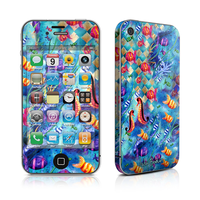 iPhone 4 Skin - Harlequin Seascape
