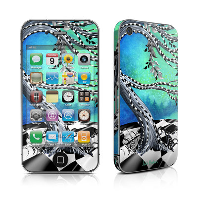 iPhone 4 Skin - Haunted Tree
