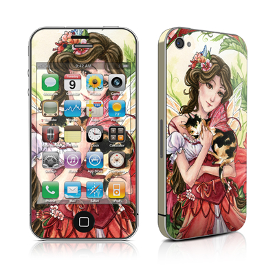 iPhone 4 Skin - Hibiscus Fairy