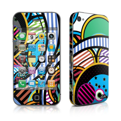 iPhone 4 Skin - Hula Hoops