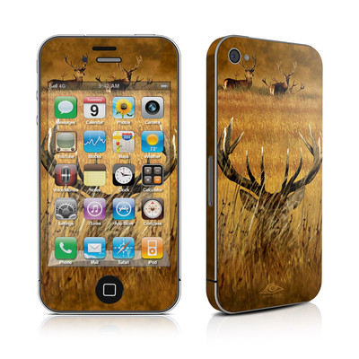 iPhone 4 Skin - Hiding Buck