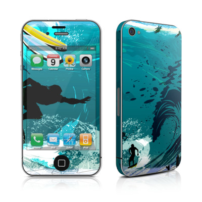 iPhone 4 Skin - Hit The Waves