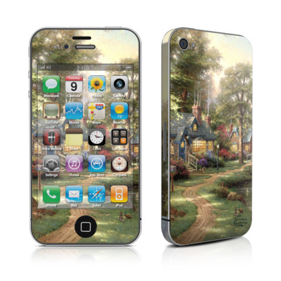 iPhone 4 Skin - Hometown Lake