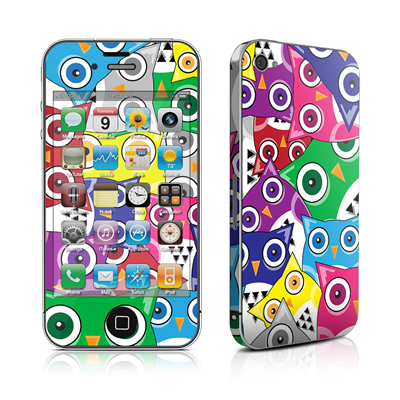 iPhone 4 Skin - Hoot
