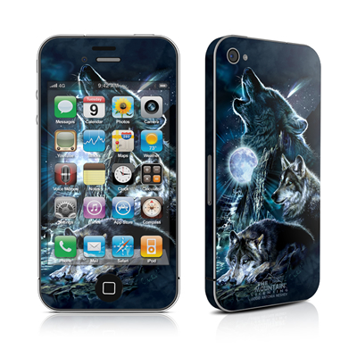 iPhone 4 Skin - Howling