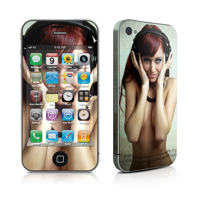 iPhone 4 Skin - Headphones