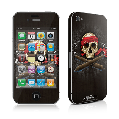 iPhone 4 Skin - High Seas Drifter