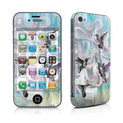 iPhone 4 Skin - Hummingbirds