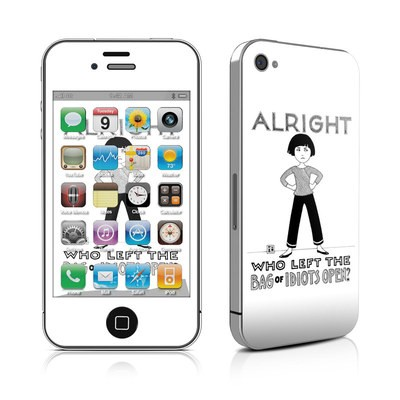 iPhone 4 Skin - Bag of Idiots