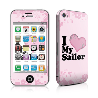 iPhone 4 Skin - I Love My Sailor