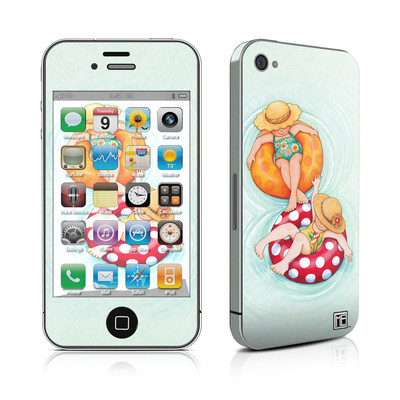 iPhone 4 Skin - Inner Tube Girls
