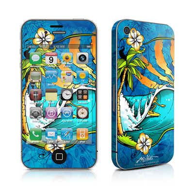 iPhone 4 Skin - Island Playground
