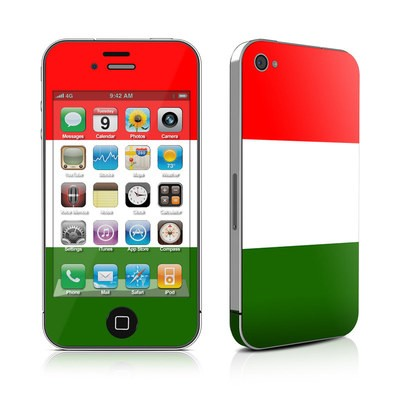 iPhone 4 Skin - Italian Flag