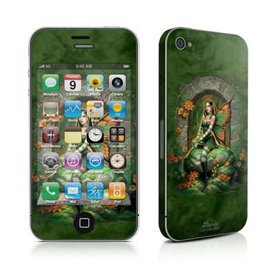 iPhone 4 Skin - Jade Fairy