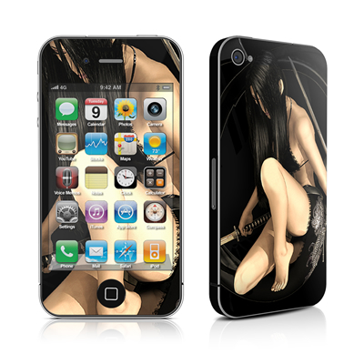iPhone 4 Skin - Josei 2 Dark