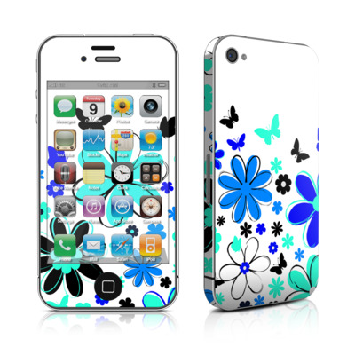 iPhone 4 Skin - Josies Garden