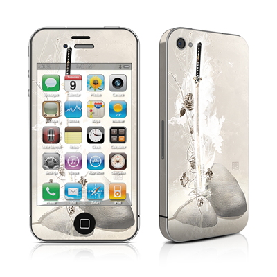 iPhone 4 Skin - Katana Gold